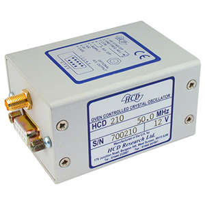 HCD chassis mount OCXO package