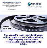 Just released - the Golledge Electronics July 2016 newsletter