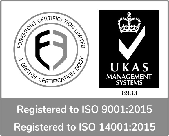 Golledge have been re-certified to the highest quality and environmental standards ISO 9001 and ISO 14001.