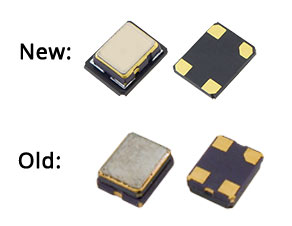 A comparison of the old and new IC of the GTXO-93 from Golledge Electronics effective Q1 2016.