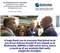 Read the November 2016 edition of the Golledge Electronics newsletter here.