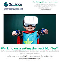 Access the July 2017 edition of the Golledge Electronics newsletter here, including our offers for commercial scale frequency projects.